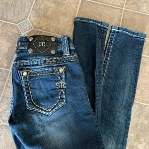 Miss Me Signature Skinny Jeans Size 24